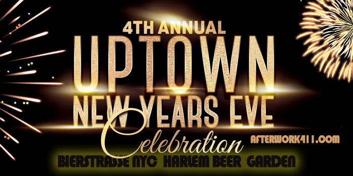 Bierstrasse NYC New Years Eve Party Uptown Harlem NYC