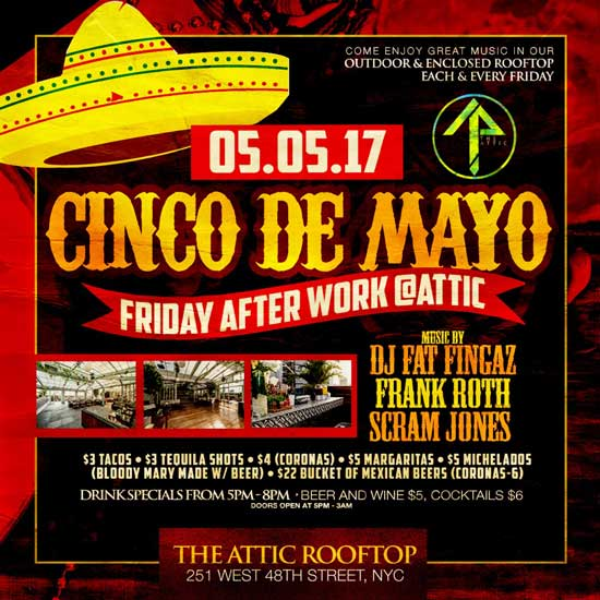 Heights Tavern NYC Cinco De Mayo NYC Celebration