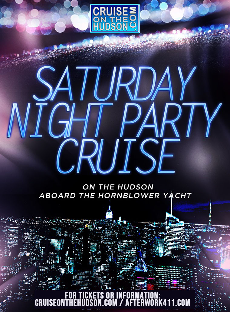 NYC Saturday Night Party Cruise at the Skyport Marina NYC Boat Party Yacht NYC
