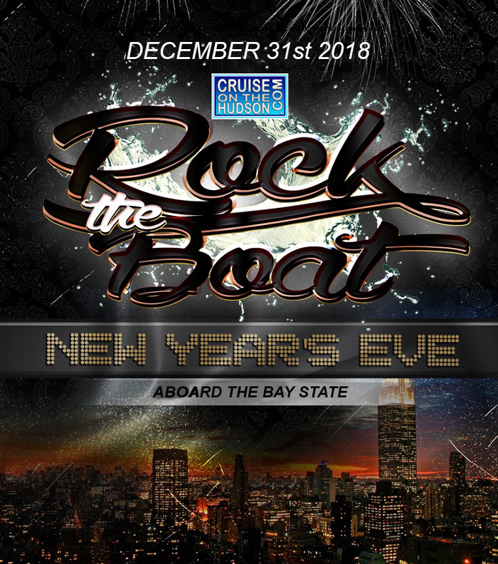 Rock The Boat New Years Eve 2019 NYC Boat Party Fireworks Cruise NYC