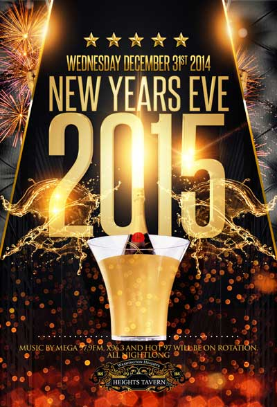 Heights Tavern NYC New Years Eve 2015
