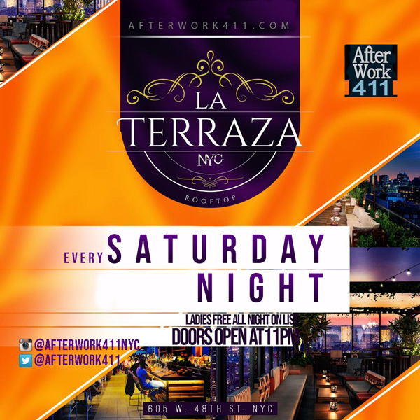 La Terraza NYC Lounge NYC Nightlife Saturday Night NYC Rooftop Lounge | La Terraza Rooftop New York