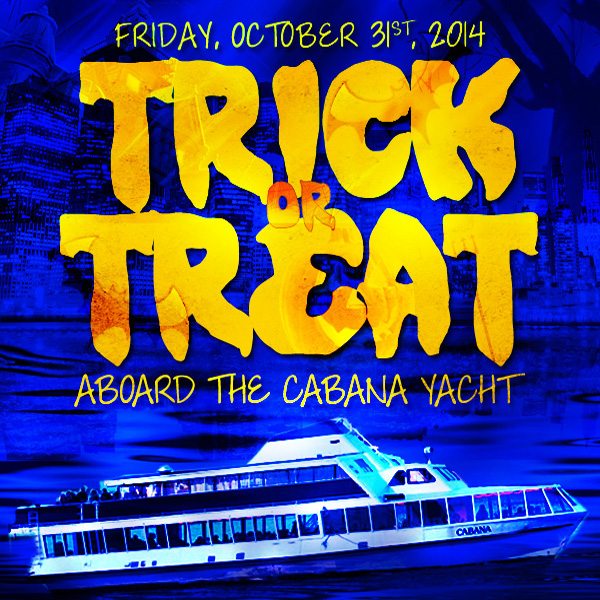 Halloween Cruise NYC Friday Night Happy Hour Dance Cruise on The Hudson - Skyport Marina NYC After Work Cruise
